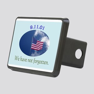 9-11 We Have Not Forgotten Rectangular Hitch Cover