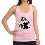 Single Panda Racerback Tank Top