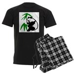 Single Panda Men's Dark Pajamas
