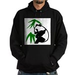 Single Panda Hoodie (dark)