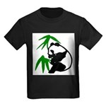 Single Panda Kids Dark T-Shirt