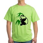 Single Panda Green T-Shirt