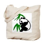 Single Panda Tote Bag