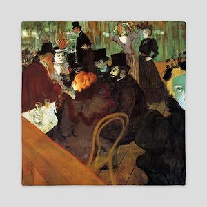 Toulouse-Lautrec At the Moulin Rouge Queen Duvet