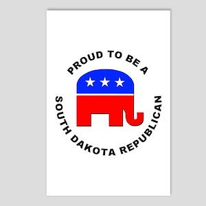 South Dakota Republican Pride Postcards (Package o