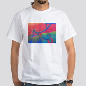 Two Quetzals White T-Shirt
