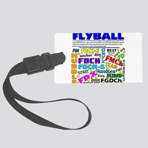 1-new flyball Large Luggage Tag