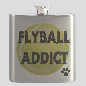 flyball-1 flat Flask