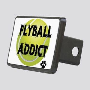 flyball-1 flat Rectangular Hitch Cover