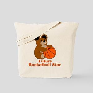 Future Basketball Star Tote Bag
