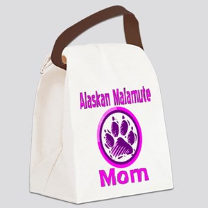 alaskan malamute mom2 Canvas Lunch Bag