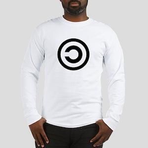 Copyleft (Anti-Copyright) Long Sleeve T-Shirt