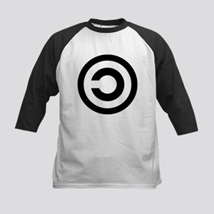 Copyleft (Anti-Copyright) Kids Baseball Jersey