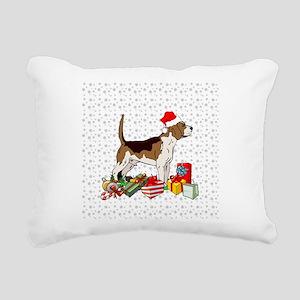 Beagle Pup Rectangular Canvas Pillow