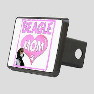 Beagle Mom3a copy Rectangular Hitch Cover