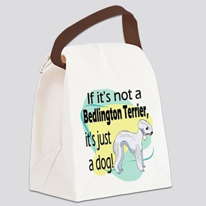 not a bedlington new darks6 Canvas Lunch Bag