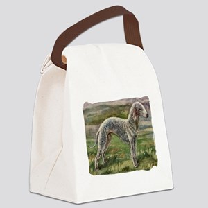 bedlington mini Canvas Lunch Bag