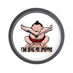 I'm Big In Japan Wall Clock