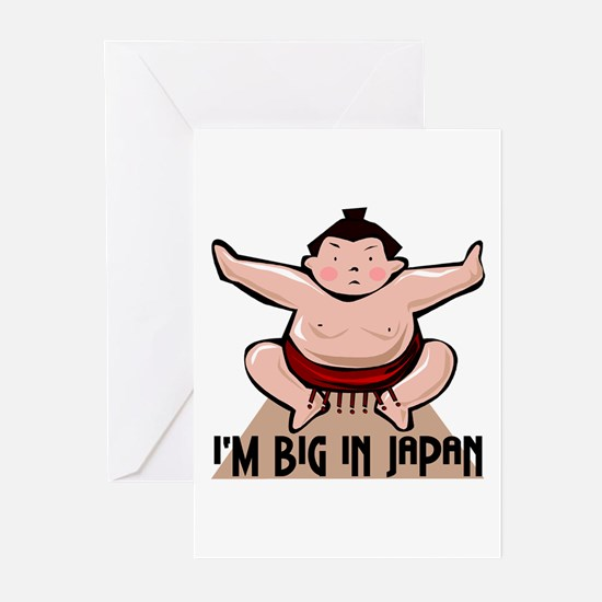 I'm Big In Japan Greeting Cards (Pk of 10)