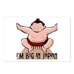 I'm Big In Japan Postcards (Package of 8)