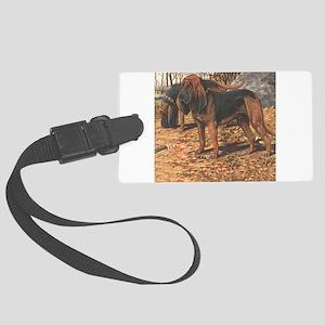 bloodhound Large Luggage Tag