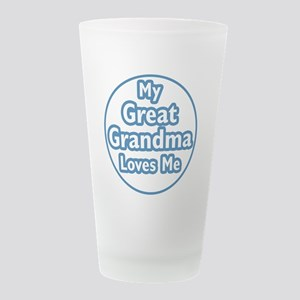 grgrandma Frosted Drinking Glass