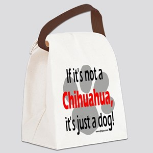 not chi-1 Canvas Lunch Bag