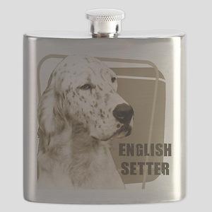 english setter head black Flask