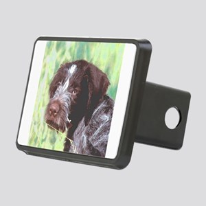 german wirehaired sq 2 watercolor Rectangular