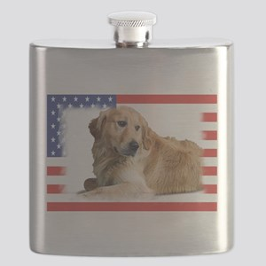 Patriotic-2 Flask