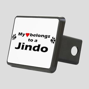 Jindo my heart bumper Rectangular Hitch Cover