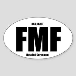 FMF NEC Sticker (Oval)
