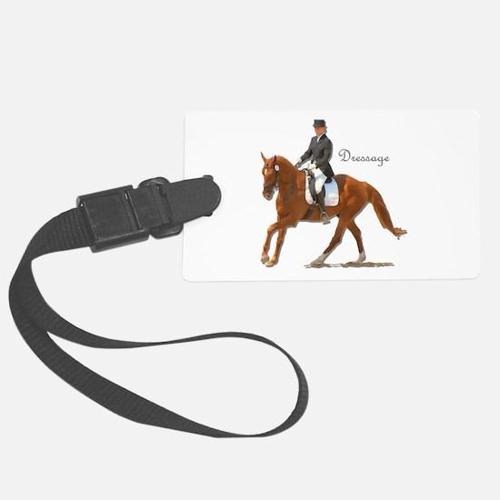 Dressage Horse-2 Luggage Tag