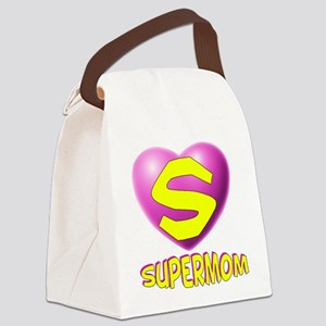 supermom new2 Canvas Lunch Bag