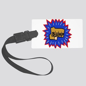 bump5 copy Large Luggage Tag