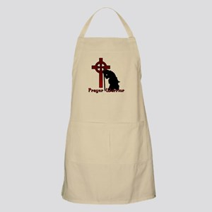 Prayer Knight Red Apron
