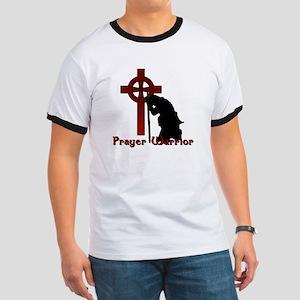 Prayer Knight Red Ringer T