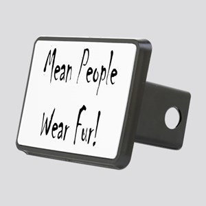 mean people black t4 Rectangular Hitch Cover