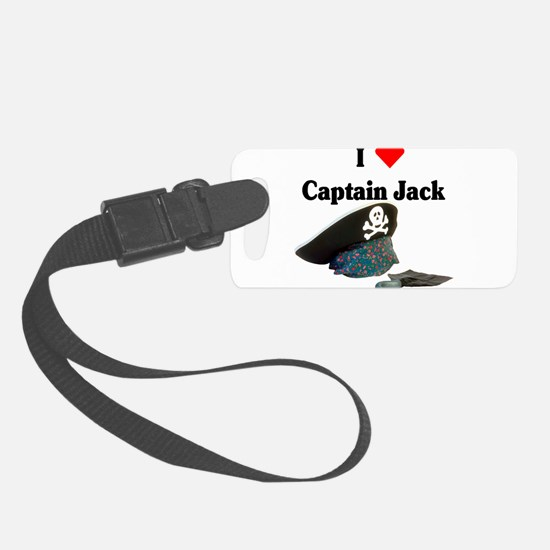 I heart captain jack.png Luggage Tag