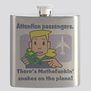 attention passengers Flask