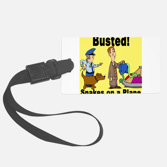 busted SOAP4.png Luggage Tag