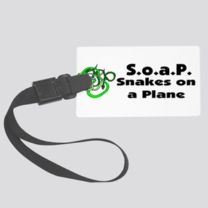 soap bumper Large Luggage Tag