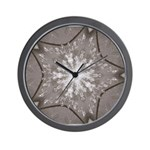 Ice Diamonds Wall Clock