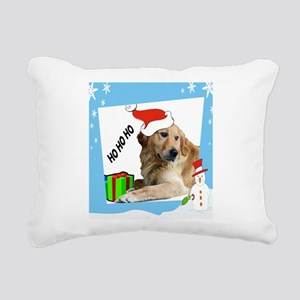 holiday square HOHO Rectangular Canvas Pillow