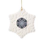 roads 6pt Snowflake Ornament