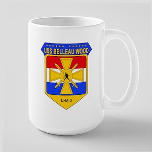 US Navy USS Belleau Wood LHA 3 Large Mug