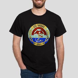 US Navy USS Nassau LHA 4 Dark T-Shirt