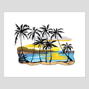 Beautiful Beach Small Poster