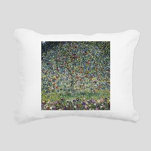 Gustav Klimt Apple Tree Rectangular Canvas Pillow