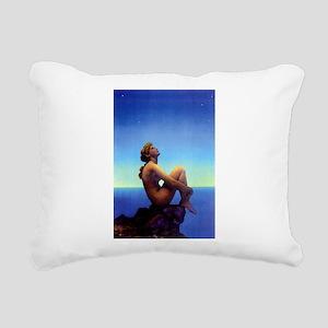 Maxfield Parrish Stars Rectangular Canvas Pillow